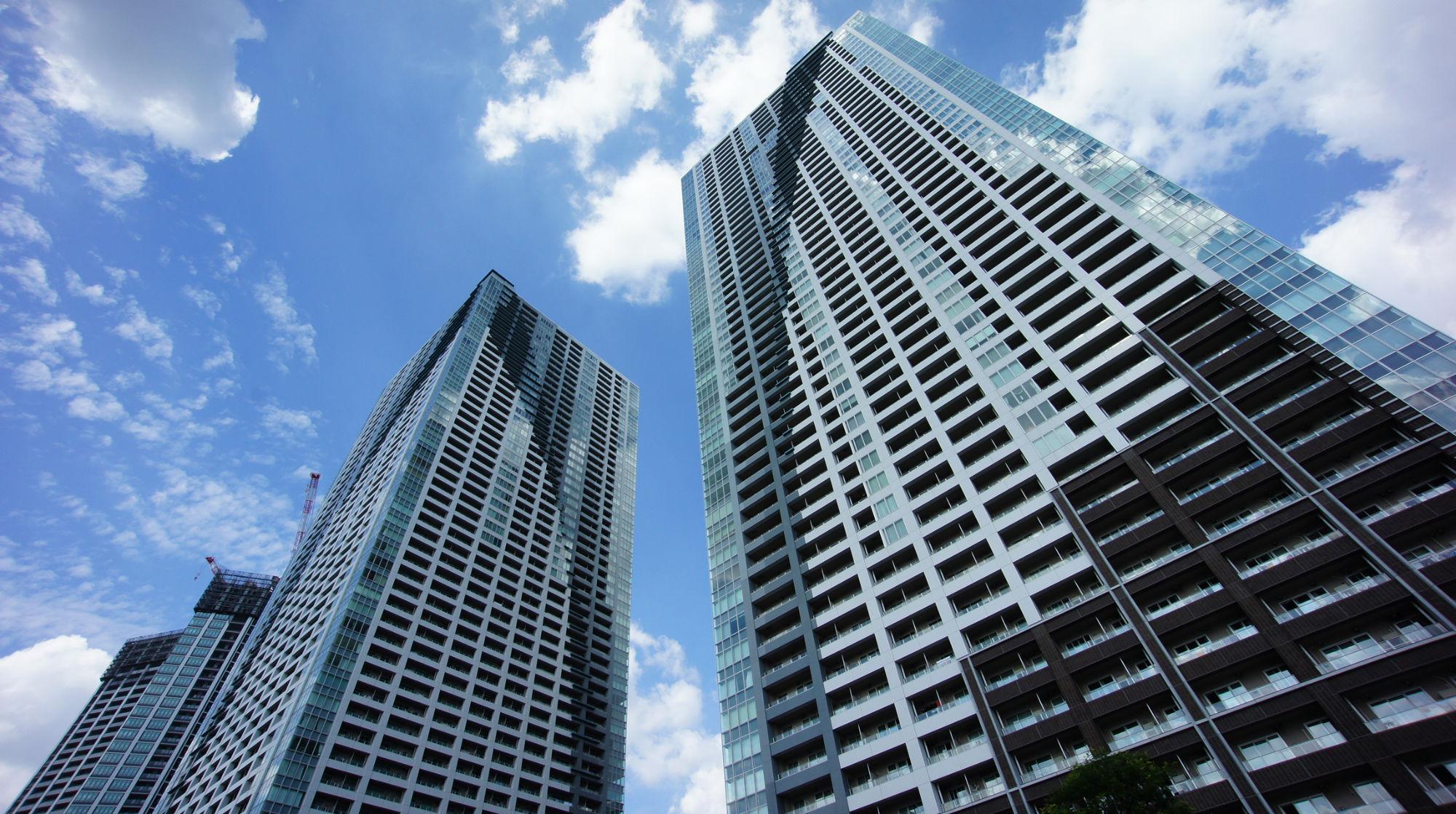 THE TOKYO TOWERS 東京都中央区勝どき徒歩5分
