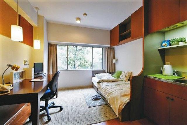 東京家具付き賃貸(マントミパークハウスの家具付き個室)