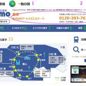家具もついてる賃貸 Kagumo(カグモ) 東京の使い方